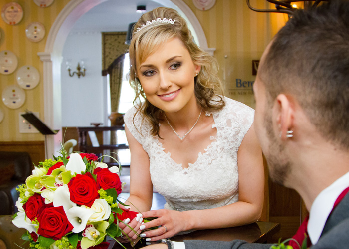 Bridal wedding day make-up services