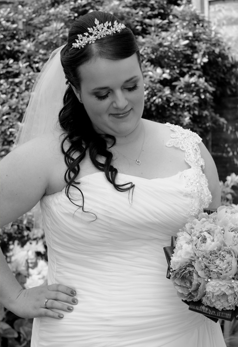 Another Bride ready on her wedding day